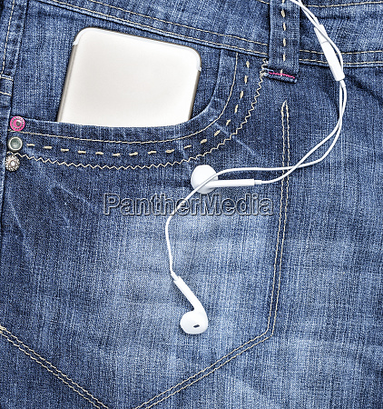 smartphone in the front pocket of