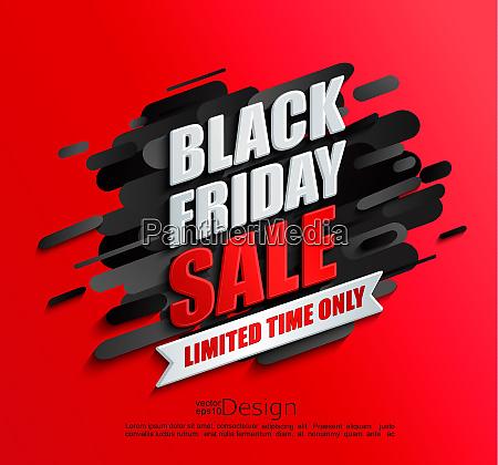 dynamic black friday sale banner on