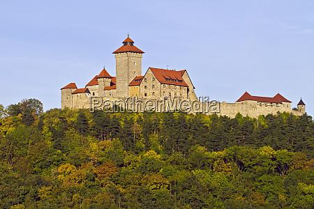 veste wachsenburg a castle of the