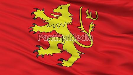 valletta city flag malta closeup view