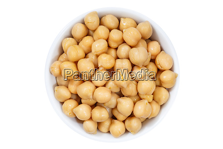 chickpeas peas vegetable vegetables from above
