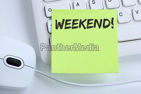 weekend relax relaxed break free time