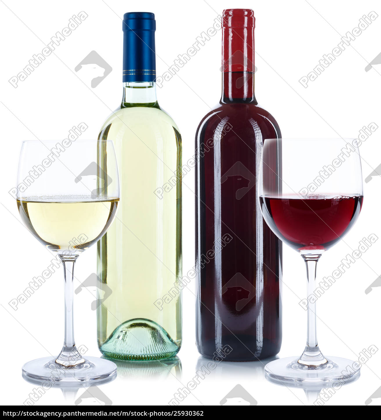 red, and, white, wine, bottles, beverage - 25930362