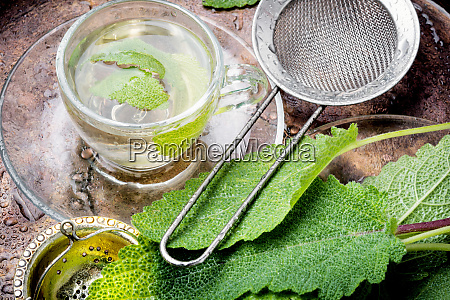 cups of healthy herbal tea