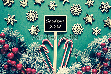 black christmas sign lights text goodbye