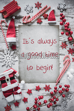 christmas flat lay vertical paper quote