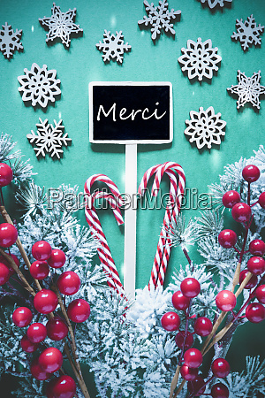 vertical black christmas sign lights merci