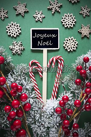 retro black christmas sign lights joyeux