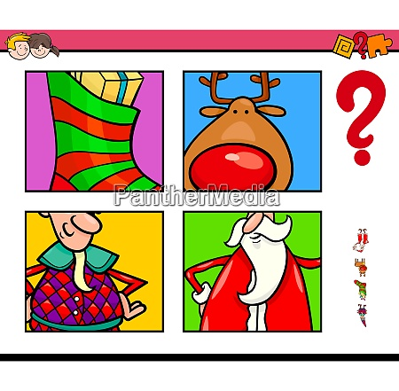 guess xmas characters and objects game
