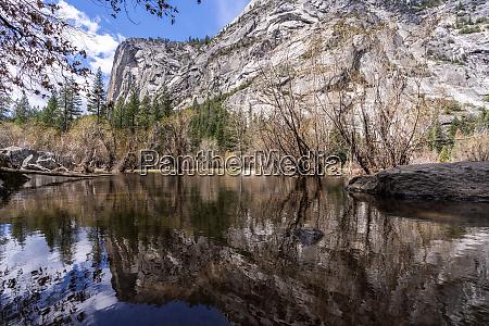 mirror, lake, yosemite, national, park - 25943242