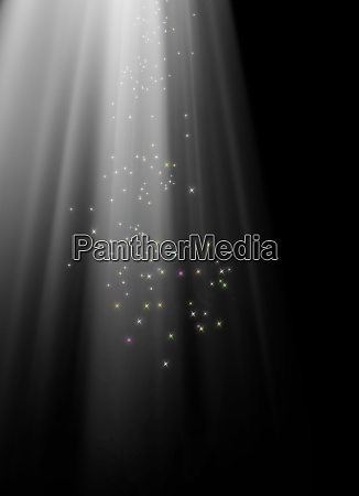 abstract background image of blurry lights