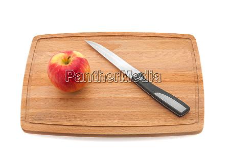apple preserved its shape but cut