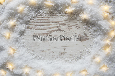 white vintage christmas background snow and