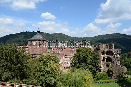 castle in heidelberg germany