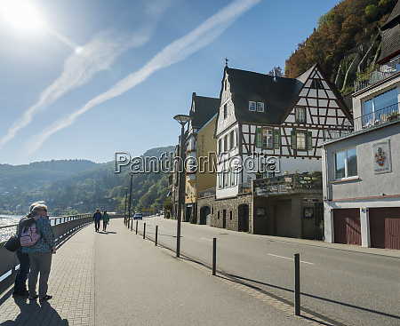 ancient buildings cochem germany