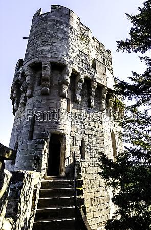 warwick castle caesars tower in