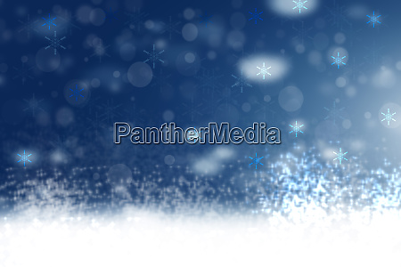 abstract blurred festive winter christmas or