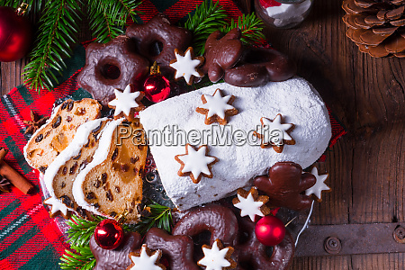 delicious dresdner christ stollen with marzipan