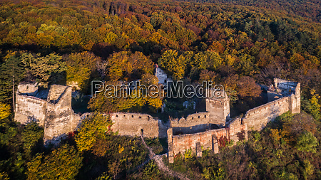 medieval fortified saxon fortress in saschiz