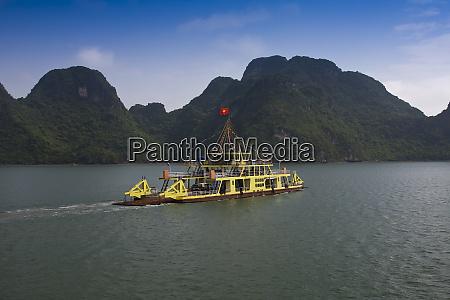 ferry boat in halong bay