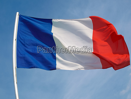 french flag of france