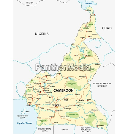 republic of cameroon road and national
