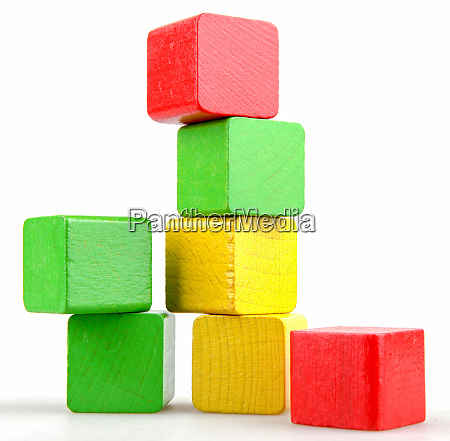 wooden building blocks set childrens