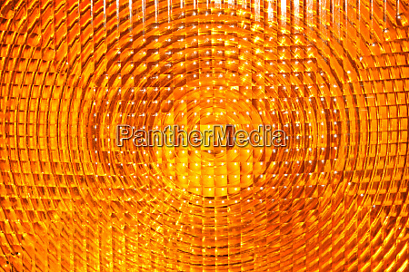 abstract background of yellow faceted plastic