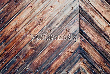 rustic dark antique stained wood wall