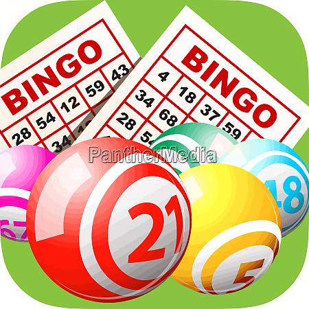 bingo card gambling recreation activity luck
