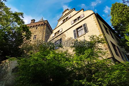rear side castle landsberg