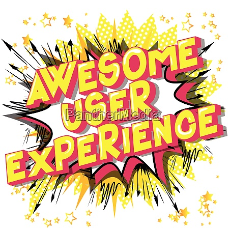awesome, user, experience, -, vector, illustrated - 25998350