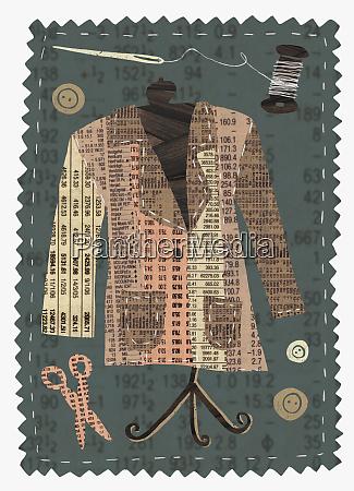 tailor made stock market jacket