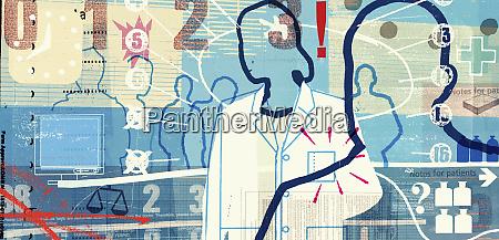 doctors, and, medical, symbols - 26000579