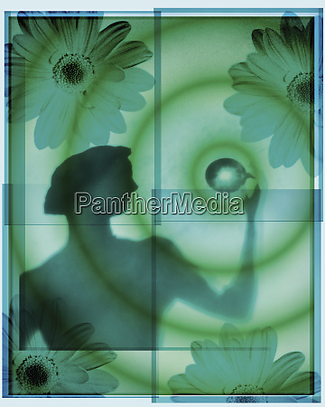 silhouette, of, healthy, woman - 26000918