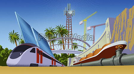 modern development in the tropics