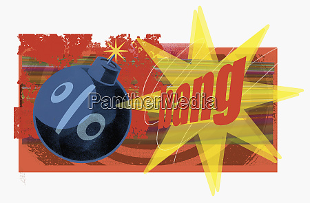 percent bomb exploding
