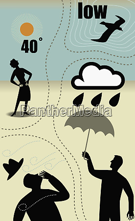 variety of weather systems