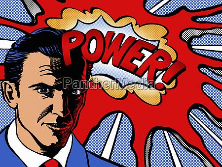 powerful businessman