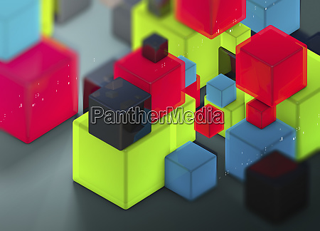 shiny cubes and coding