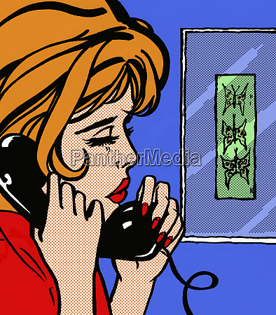 close up of sad woman talking