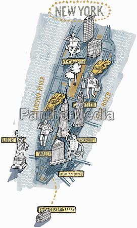 new york city map