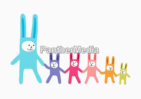 rabbit family