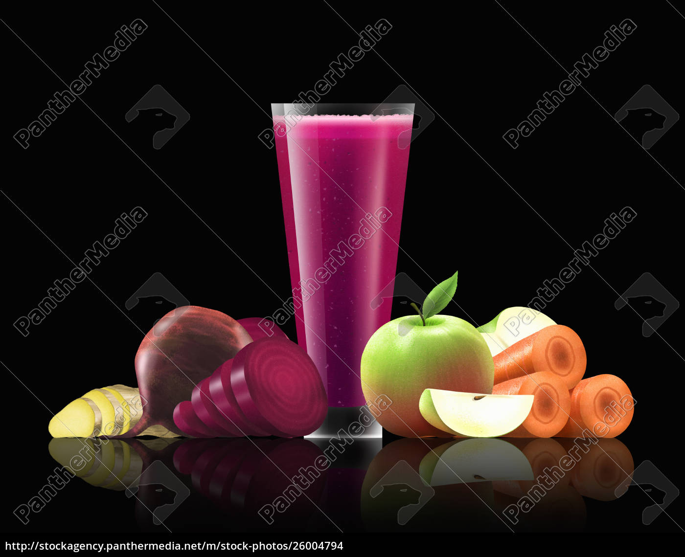 glass, of, beetroot, , apple, , carrot, and - 26004794