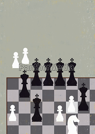 unfair advantage chess game with lots