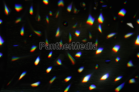 abstract backgrounds pattern of rainbow lights