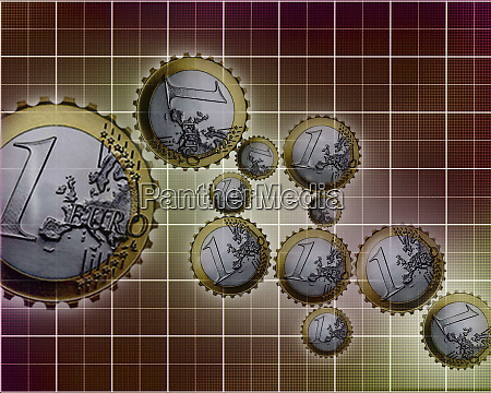 connected euro coin cogs