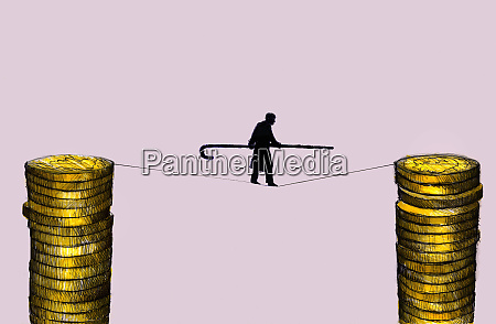 elderly man with cane walking on
