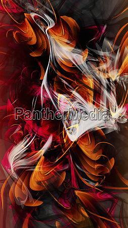 abstract red wave backgrounds