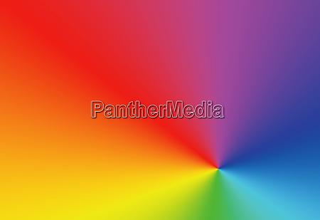 full frame rainbow spectrum of colors